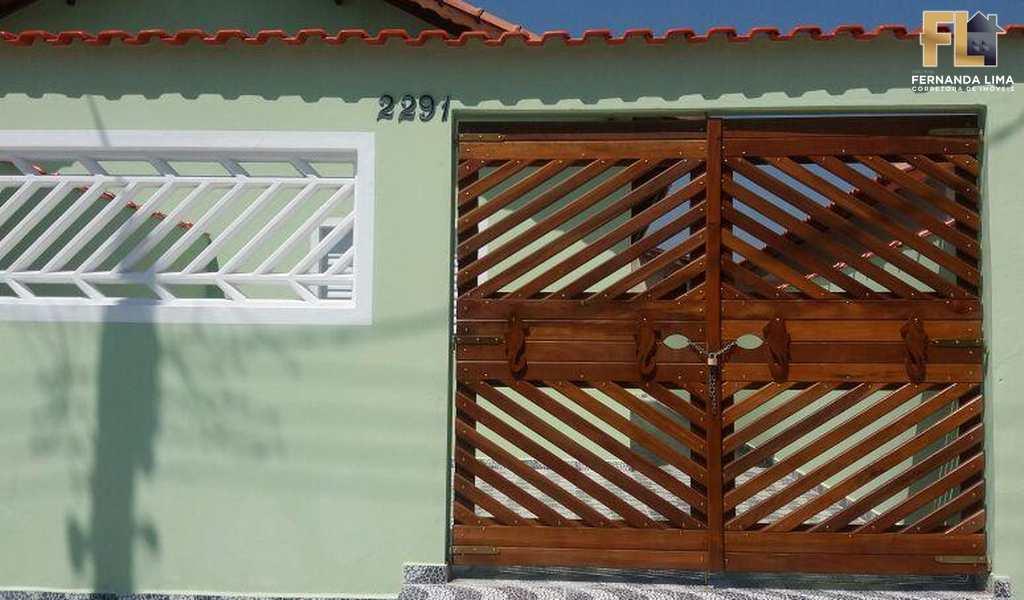 Casa em Mongaguá, bairro Jardim Leonor Jussara