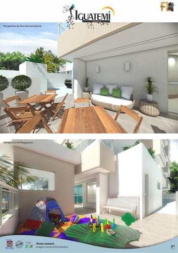 Apartamento, código 45041 em Praia Grande, bairro Guilhermina