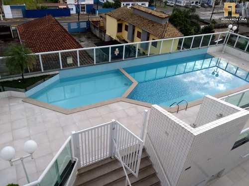 Apartamento, código 45097 em Mongaguá, bairro Centro