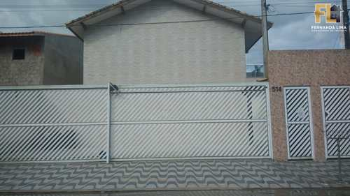 Casa de Condomínio, código 45177 em Mongaguá, bairro Pedreira