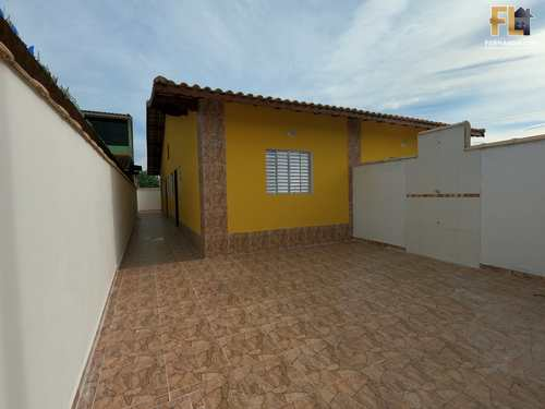 Casa, código 45207 em Mongaguá, bairro Jardim Leonor