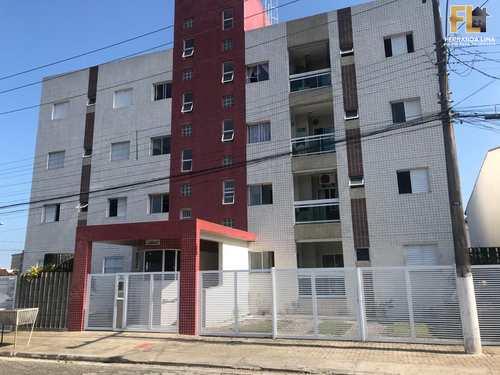 Apartamento, código 45242 em Mongaguá, bairro Pedreira