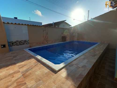 Casa, código 45342 em Itanhaém, bairro Cibratel I