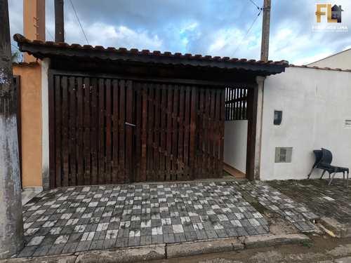 Casa, código 45346 em Mongaguá, bairro Itaóca