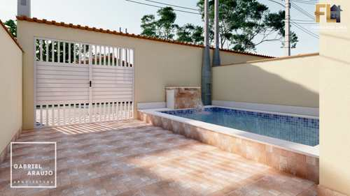 Casa, código 45363 em Mongaguá, bairro Jardim Praia Grande