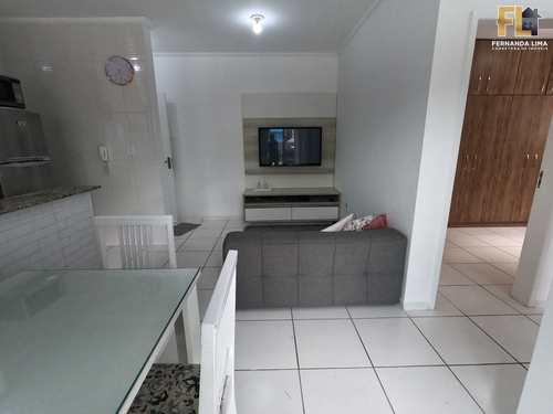 Apartamento, código 45364 em Mongaguá, bairro Pedreira