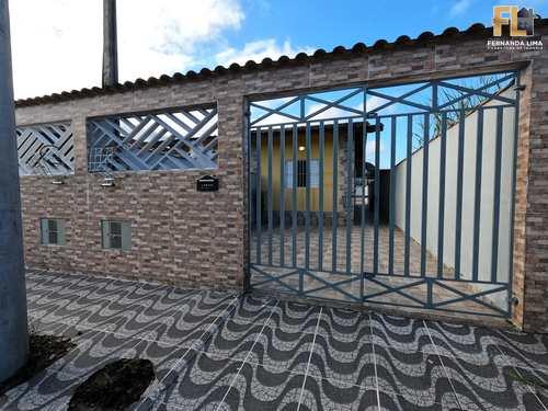Casa, código 45377 em Mongaguá, bairro Flórida Mirim