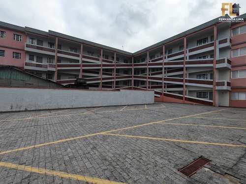 Apartamento, código 45386 em Mongaguá, bairro Pedreira