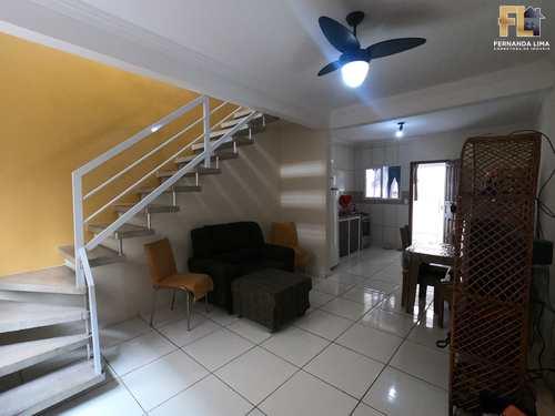 Casa de Condomínio, código 45389 em Mongaguá, bairro Pedreira