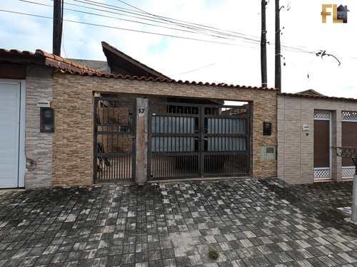 Casa, código 45395 em Mongaguá, bairro Jardim Aguapeu