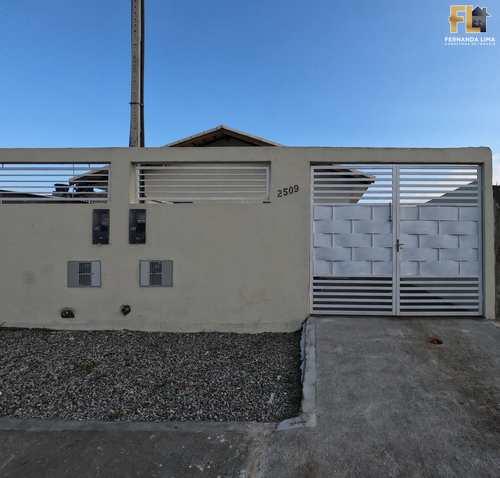 Casa, código 45397 em Mongaguá, bairro Jardim Leonor