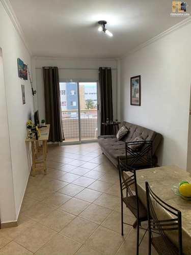 Apartamento, código 45411 em Mongaguá, bairro Jardim Aguapeu