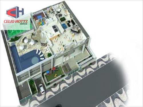 Apartamento, código 10007 em Praia Grande, bairro Guilhermina