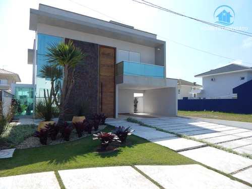 Casa de Condomínio, código 1063 em Peruíbe, bairro Bougainvillee