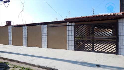 Casa, código 1055 em Peruíbe, bairro Jardim Ribamar