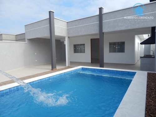 Casa, código 1107 em Peruíbe, bairro Belmira Novaes