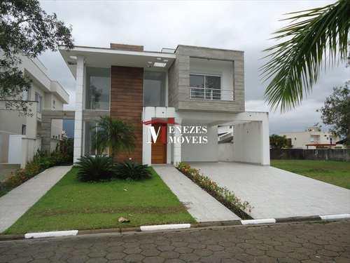 Casa de Condomínio, código 703 em Bertioga, bairro Bougainville