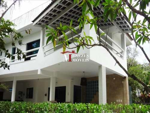 Casa de Condomínio, código 327 em Bertioga, bairro Guaratuba Costa do Sol