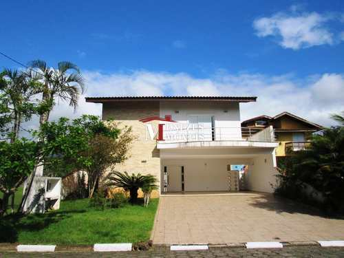 Casa de Condomínio, código 81 em Bertioga, bairro Bougainville