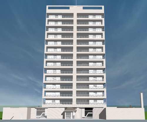 Apartamento, código 146 em Peruíbe, bairro Centro