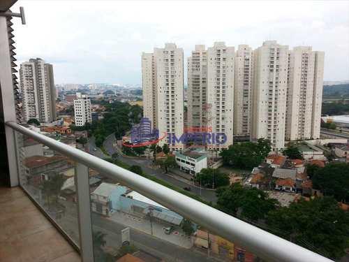 Flat, código 840 em Guarulhos, bairro Vila Leonor