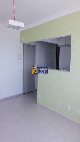 Apartamento, código 227 em São Vicente, bairro Centro
