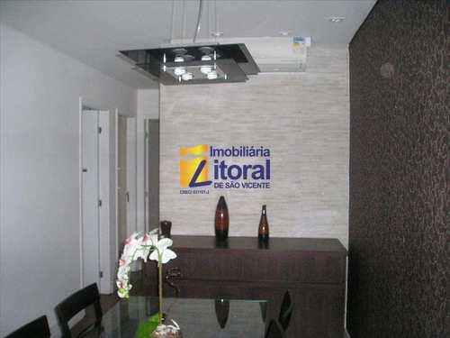 Apartamento, código 201 em São Vicente, bairro Centro