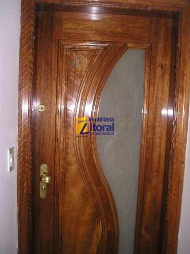 Apartamento, código 259 em São Vicente, bairro Centro