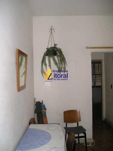 Apartamento, código 263 em São Vicente, bairro Centro