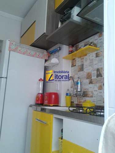Apartamento, código 297 em São Vicente, bairro Centro