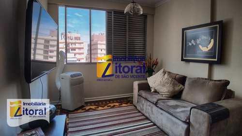 Apartamento, código 331 em São Vicente, bairro Centro
