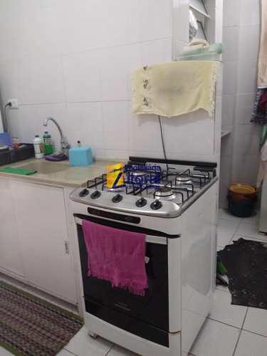 Apartamento, código 343 em São Vicente, bairro Centro