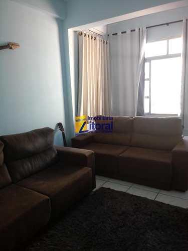 Apartamento, código 344 em São Vicente, bairro Centro