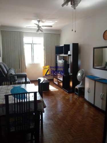 Apartamento, código 349 em São Vicente, bairro Centro