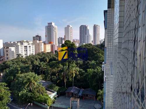 Apartamento, código 354 em Santos, bairro Gonzaga