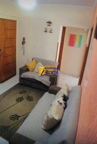 Apartamento, código 359 em São Vicente, bairro Centro