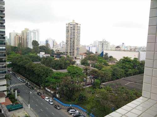 Apartamento, código 10543 em Santos, bairro Aparecida
