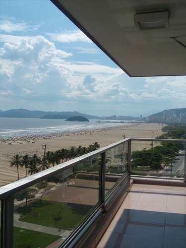 Apartamento, código 10330 em Santos, bairro Gonzaga