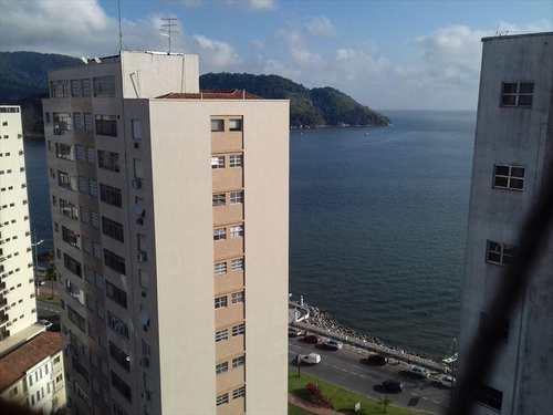 Apartamento, código 10168 em Santos, bairro Ponta da Praia