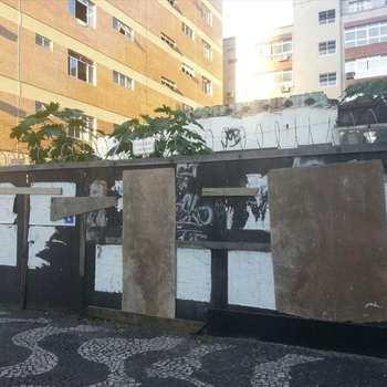 Terreno em Santos, bairro Embaré