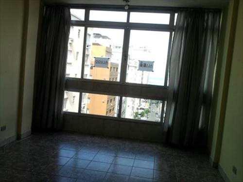 Kitnet, código 3477 em Santos, bairro Boqueirão