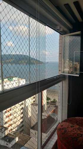 Apartamento, código 10616 em Santos, bairro Embaré
