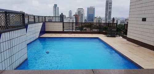 Apartamento, código 11153 em Santos, bairro Ponta da Praia