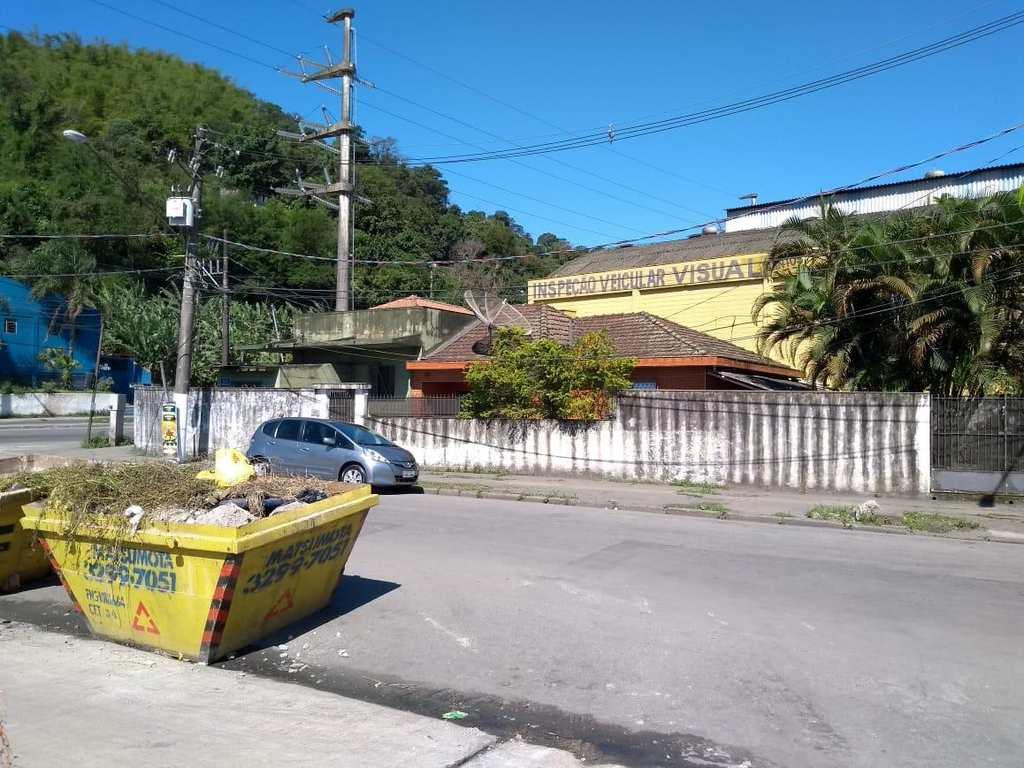 Terreno em Santos, no bairro Chico de Paula