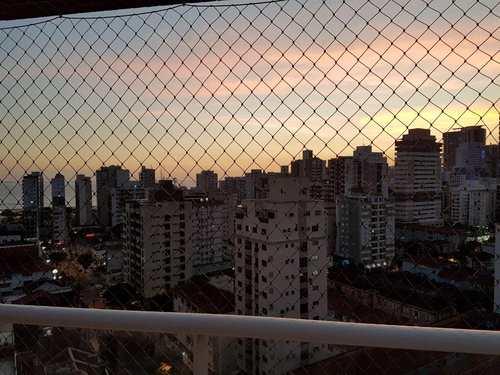 Apartamento, código 11490 em Santos, bairro Gonzaga