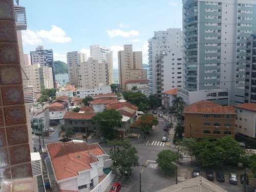 Apartamento, código 11650 em Santos, bairro Ponta da Praia