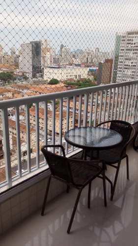 Apartamento, código 11684 em Santos, bairro Encruzilhada