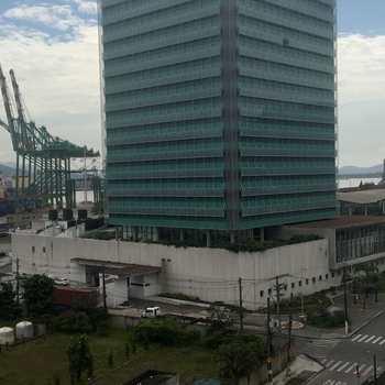 Sala Comercial em Santos, bairro Valongo