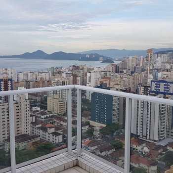 Penthouse em Santos, bairro Embaré