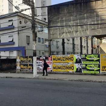 Terreno Comercial em São Vicente, bairro Itararé